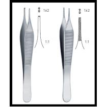 Пинцет Адсона анатомический 12 см